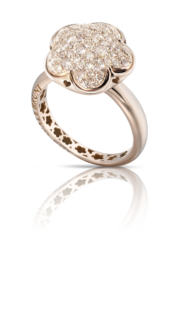 BON TON <br /> Ring - Roségold<br /> Diamanten